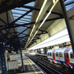 Engineering works on tubes and trains at the weekend